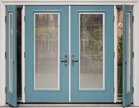 Therma Tru French Doors With Blinds Rona Mantar