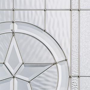 Fiber-Classic® Mahogany Collection™ Glass Image